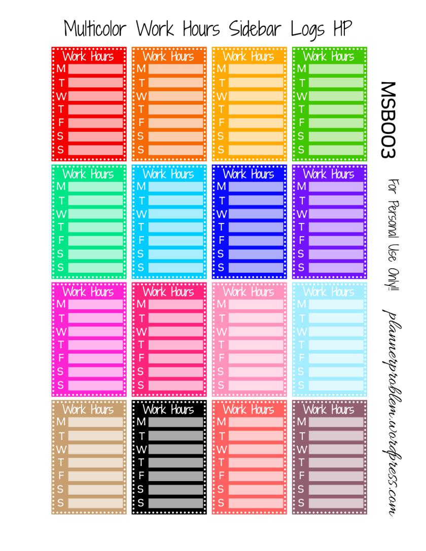 Multicolor Volunteer Mix {Sidebars, Circles, Flags, Deco ...
