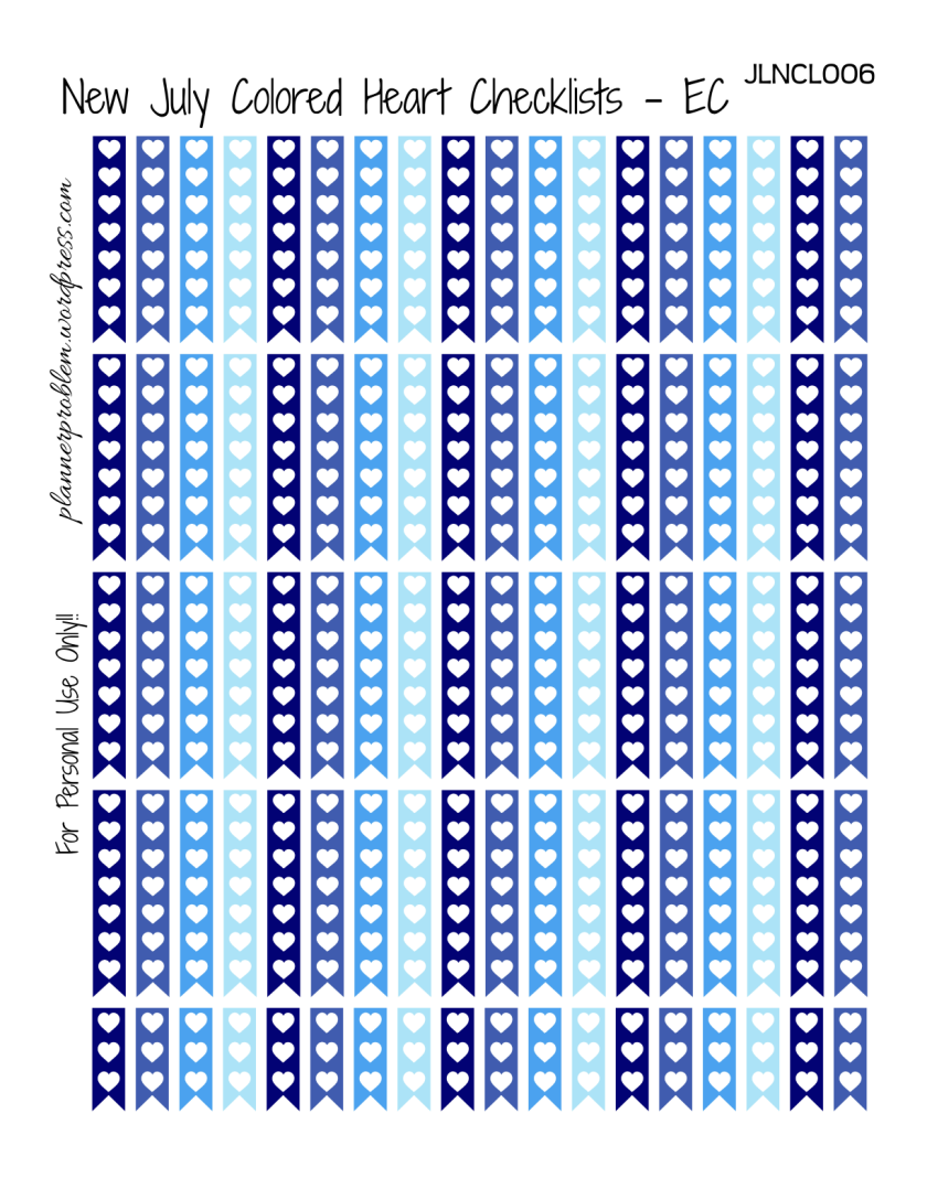 Svg File Included Erin Condren Vertical 14 Designs 14 Weeks E.C PRINTABLE Date Header Planner Stickers