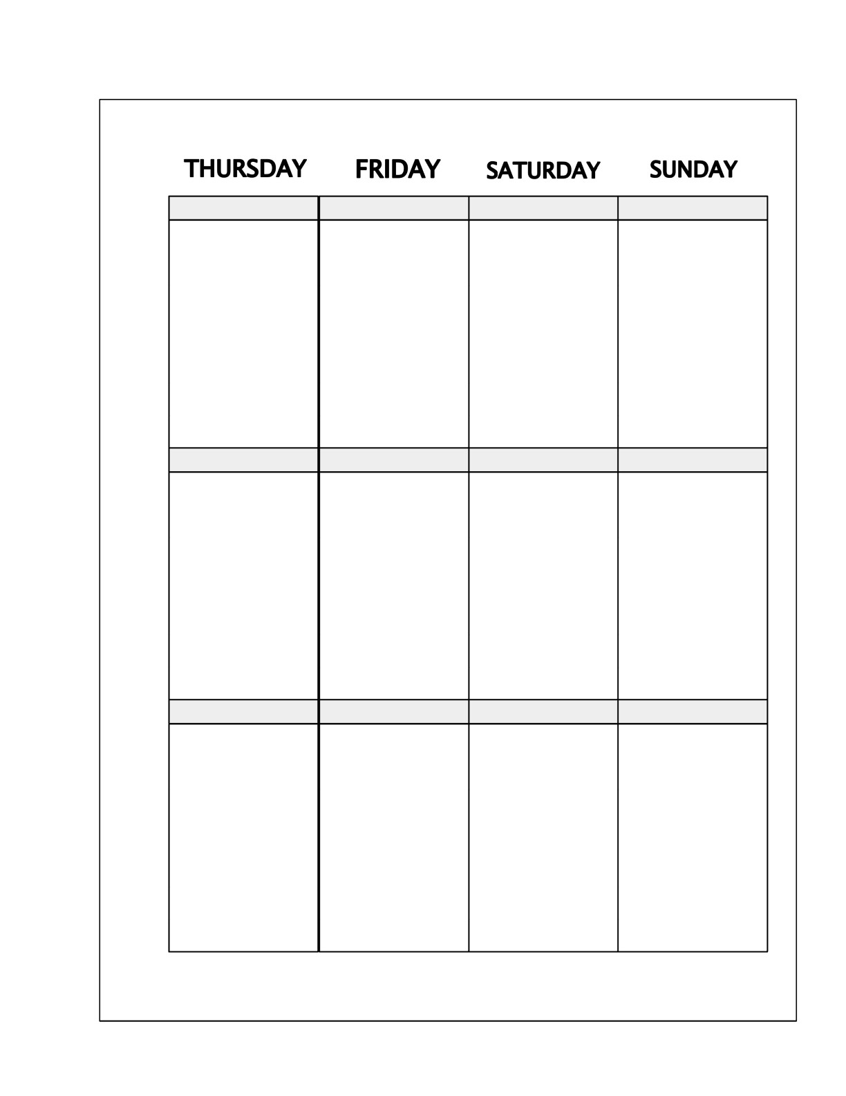Hello Everyone!  Free Planner Template