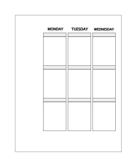 faux erin condren life planner vertical inserts free planner printable
