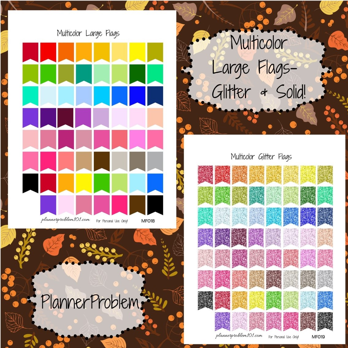 multicolor large page flags