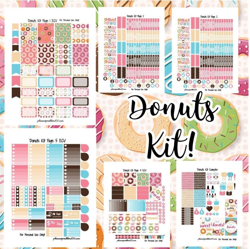 PlannerProblem – Free Printable and Custom Planner Stickers!