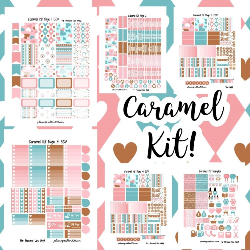 This is an image of Vibrant Printable Planner Stickers